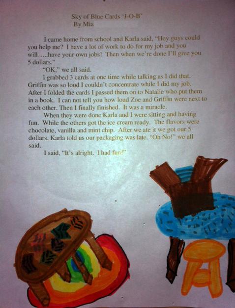 Mia's Essay