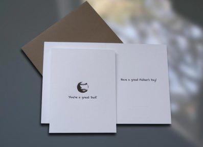 Baseball Father's Day Card – Sky of Blue Cards – $4.50 each