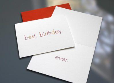 Best.Birthday.Ever Birthday Card – Sky of Blue Cards – $4.50