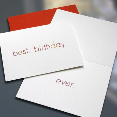 Best.Birthday.Ever Birthday Card - Sky of Blue Cards - $4.50