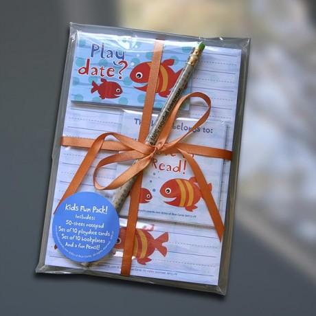 Fish Friends Kids Fun Pack Set - Sky of Blue Cards - $19