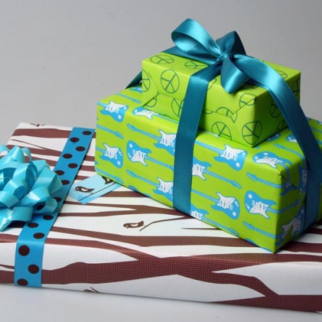 Gift Wrap - Sky of Blue Cards - $6 for 2 sheets 19x27