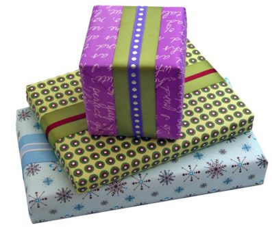 Gift Wrap – Sky of Blue Cards – $6 for 2 sheets 19×27