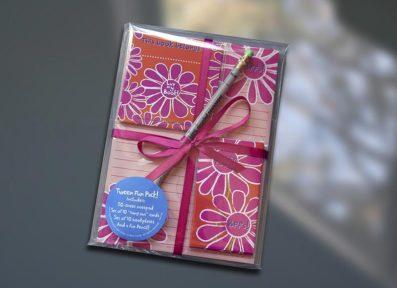 Tween Flower Fun Pack Set – Sky of Blue Cards – $19