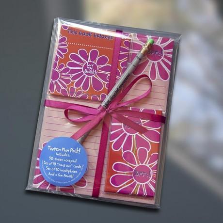 Tween Flower Fun Pack Set - Sky of Blue Cards - $19