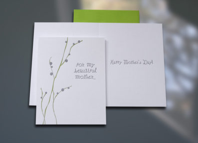 Beautiful Mother Mother's Day Card – Sky of Blue Cards – $4.50 each