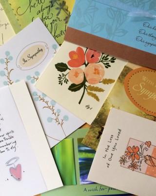 Sympathy Cards Header
