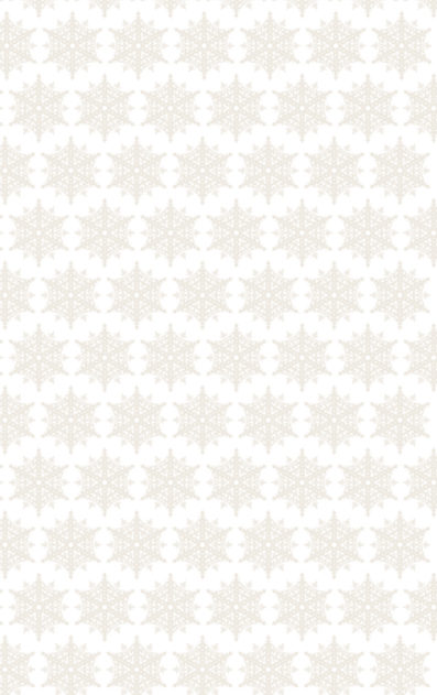 Snowflake Pattern Holiday Gift Wrap from Sky of Blue Cards $6 for 2 sheets