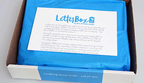 Spring LetterBox by Sky of Blue Cards