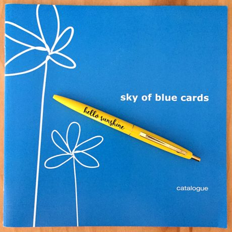 Sky of Blue Cards Catalog