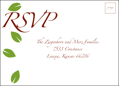 RSVP Self-Mailer Card Front