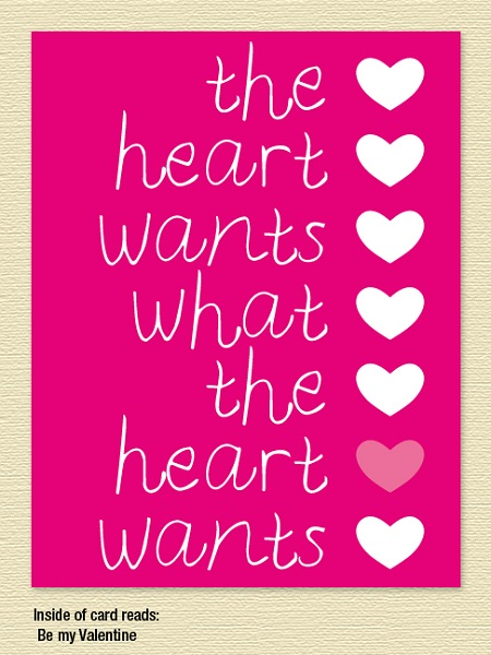 Heart Wants – Valentine's Day