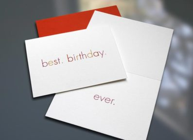 Best.Birthday.Ever Birthday Card – Sky of Blue Cards – $4.50