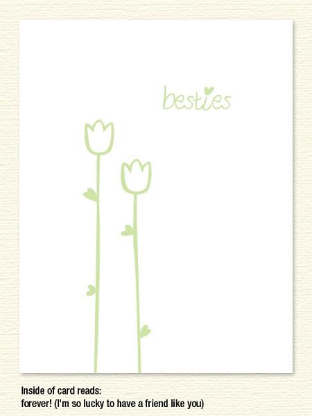 Besties Tulips – Friendship