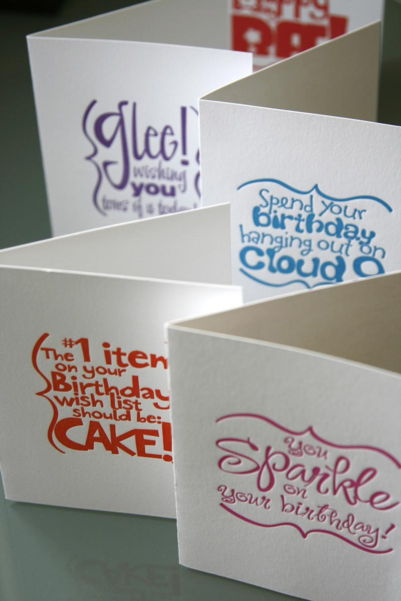 Sparkle Birthday Card