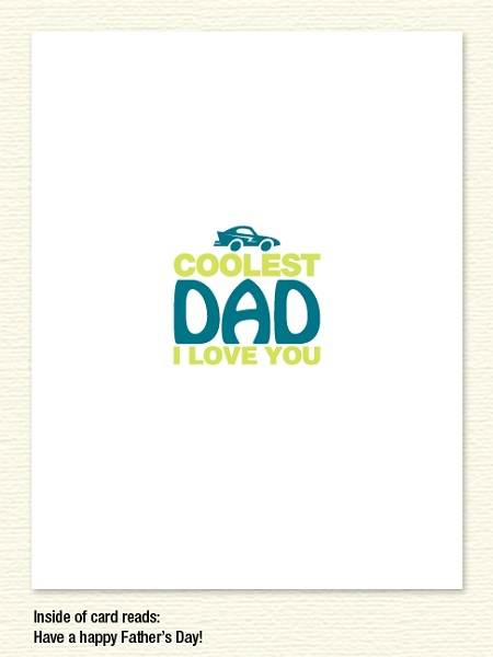 Coolest Dad –  Father's Day