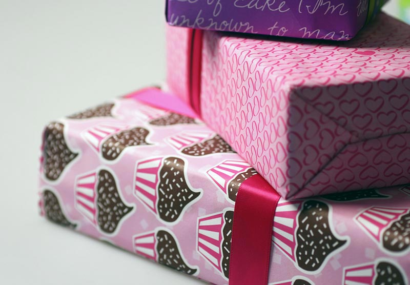 Hearts Gift Wrap