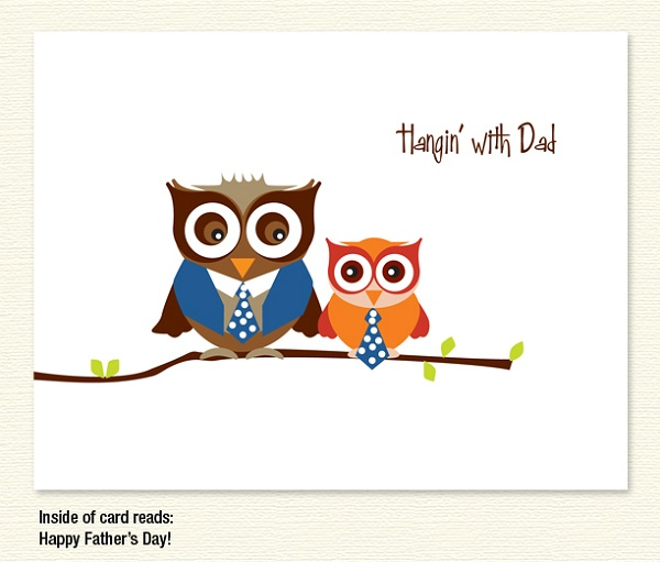 Hangin' With Dad Owls – Father's Day
