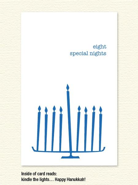 Eight Special Nights – Hanukkah Card