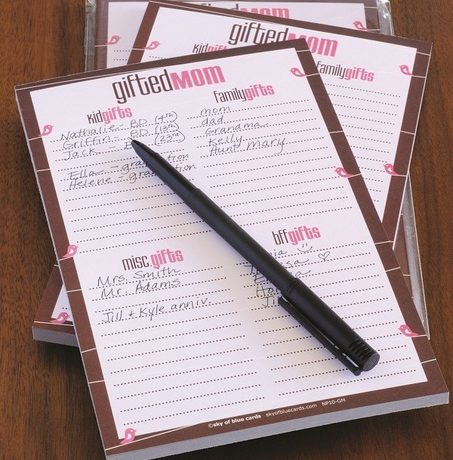 Gifted Mom Notepad