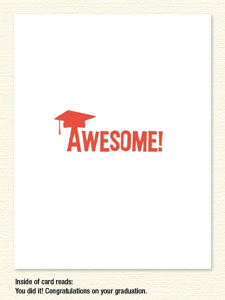 Awesome! – Graduation