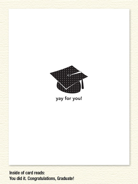 Yay for You! – Graduation