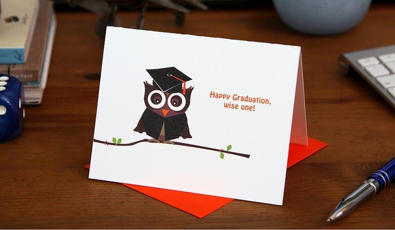 Graduate Owl – Graduation