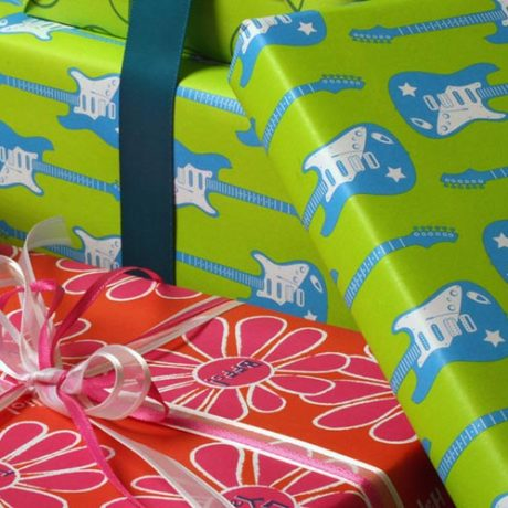 Guitar Gift Wrap