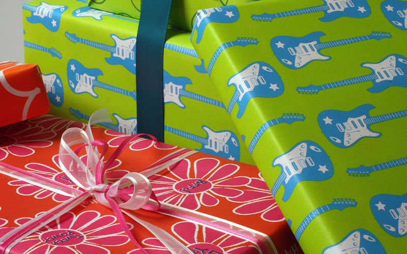 Tween Flower Gift Wrap
