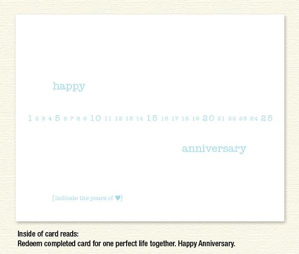 Anniversary Years 1-25