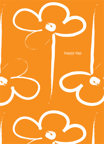 Happy Day Flower Gift Wrap
