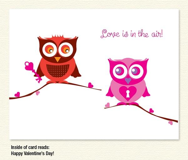 Love Owls – Valentine's Day