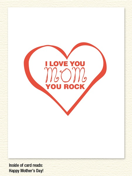 Mom You Rock – Mother's Day
