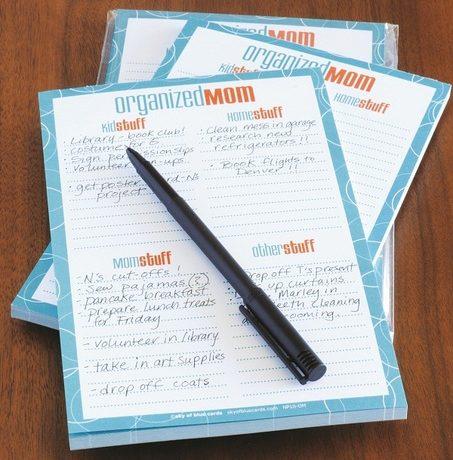 Organized Mom Notepad