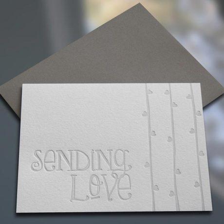 Sending Love Note Cards