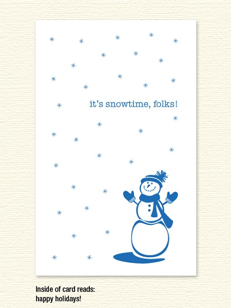 Snowtime! – Holiday Card