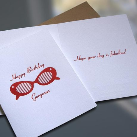 Sunglasses Birthday Card