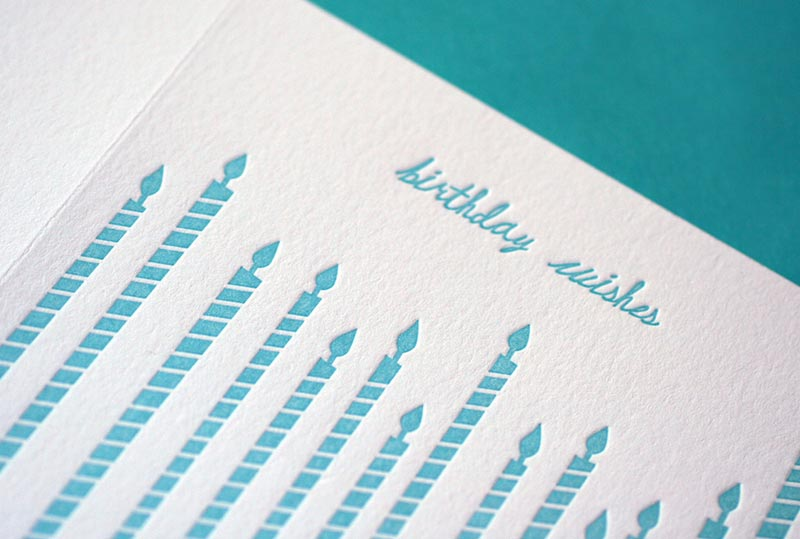 Tall Candles – Birthday Card