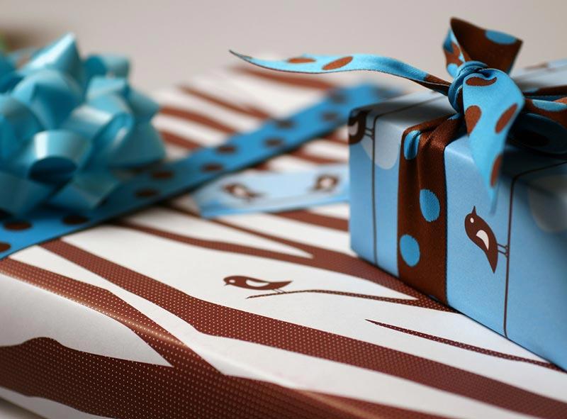 Trees Gift Wrap