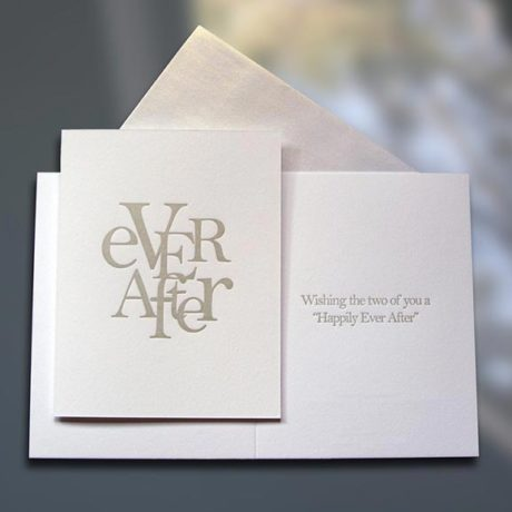 Ever After (stacked) – Wedding Card