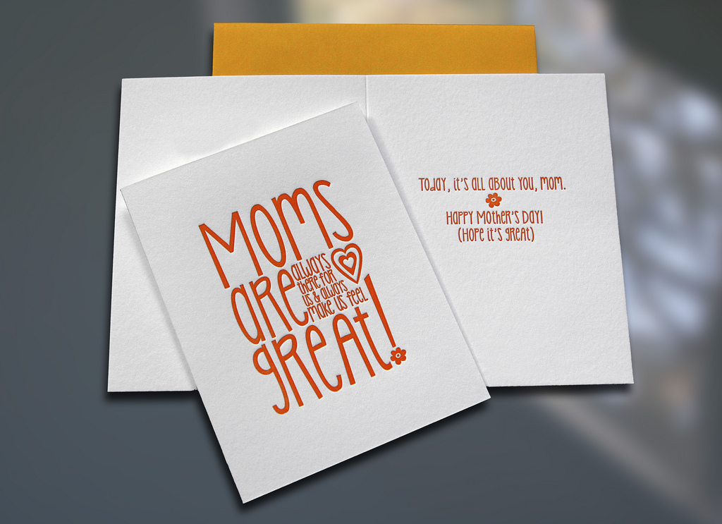 Moms Are Great – Mother's Day