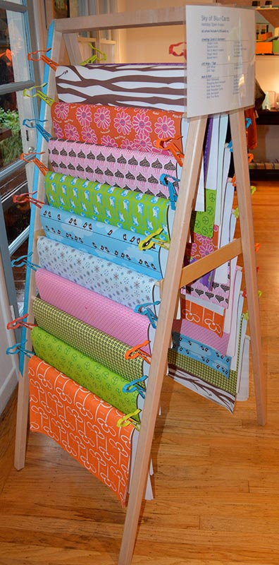 Gift Wrap Merchandising Display (Wholesale Only)