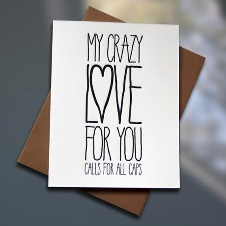 Crazy Love – ALL CAPS