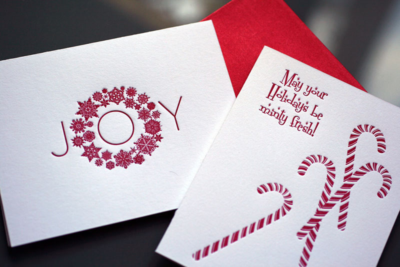 Candy Canes – Holiday Card