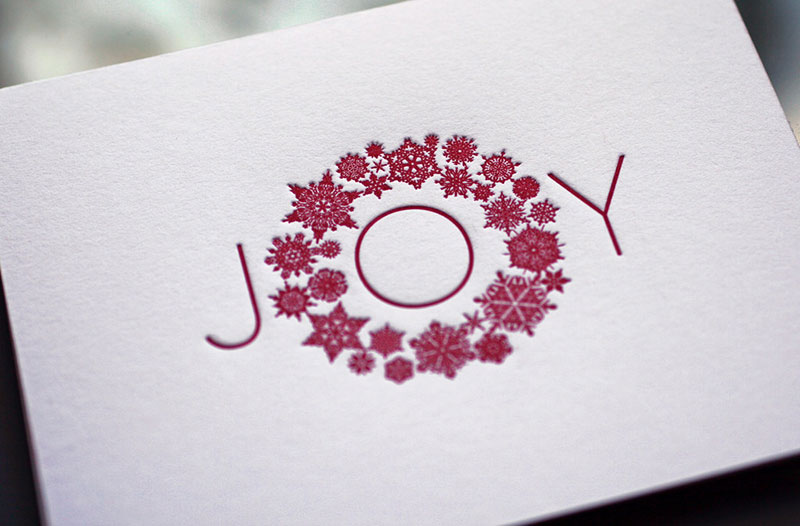 Joy Wreath – Holiday