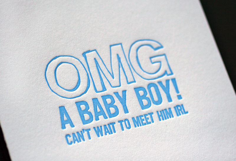 OMG Baby Boy!