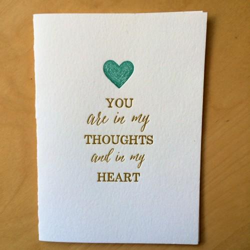 Sympathy Card from Sugarcube Press