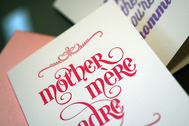 Mother-Mere-Madre – Mother's Day