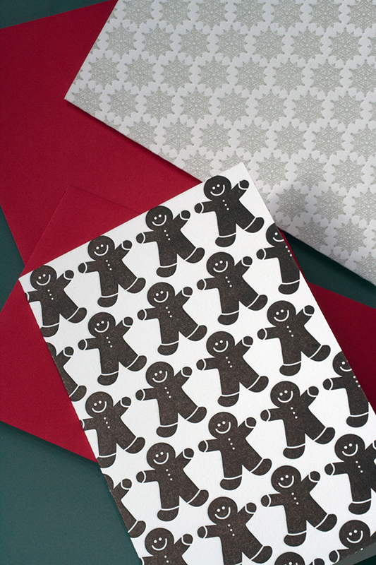 Gingerbread Men Pattern Mini