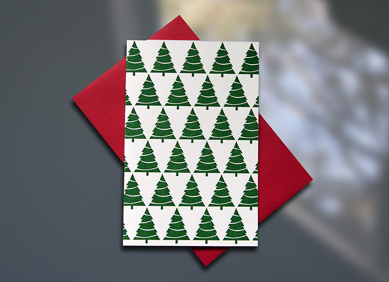 Xmas Tree Pattern Mini